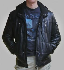 Куртка кожанаяLevinson